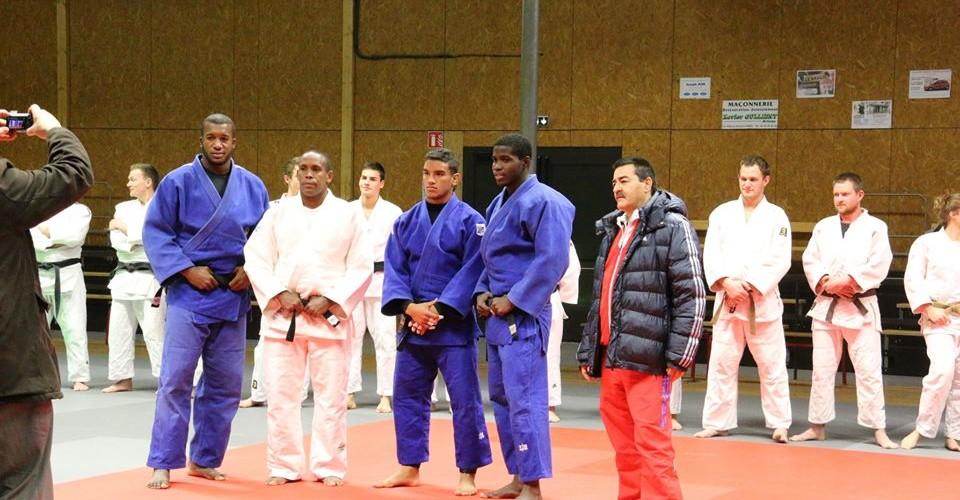 L'équipe nationale de Cuba au JCE en mars 2015!